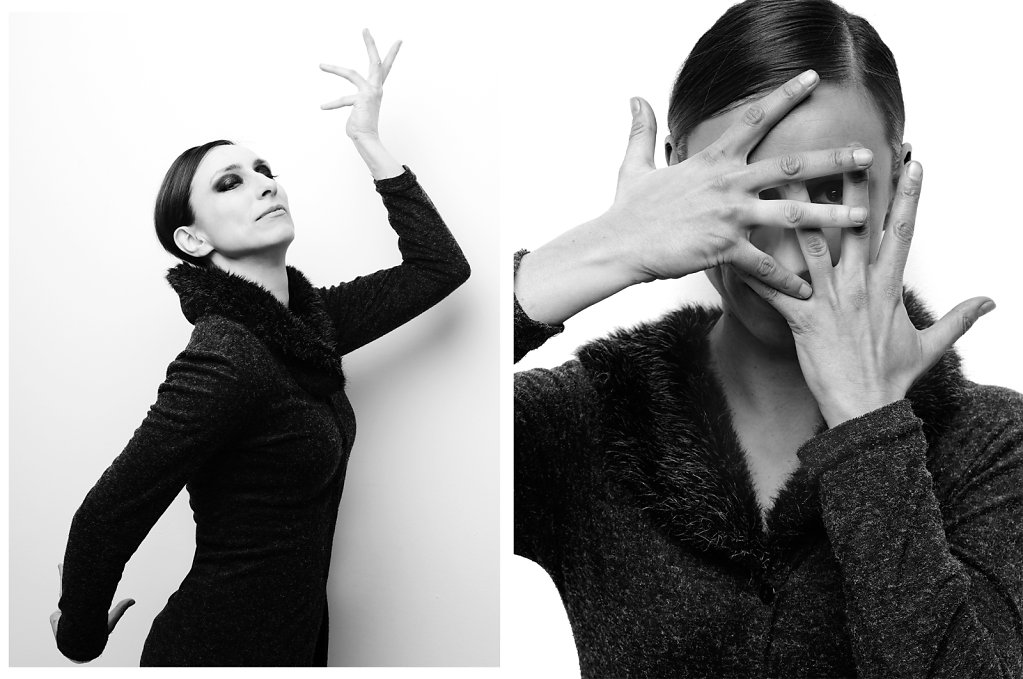 Photographe comédien acteur comédienne Evelyne Demaude © Ahmed Bahhodh Paris
