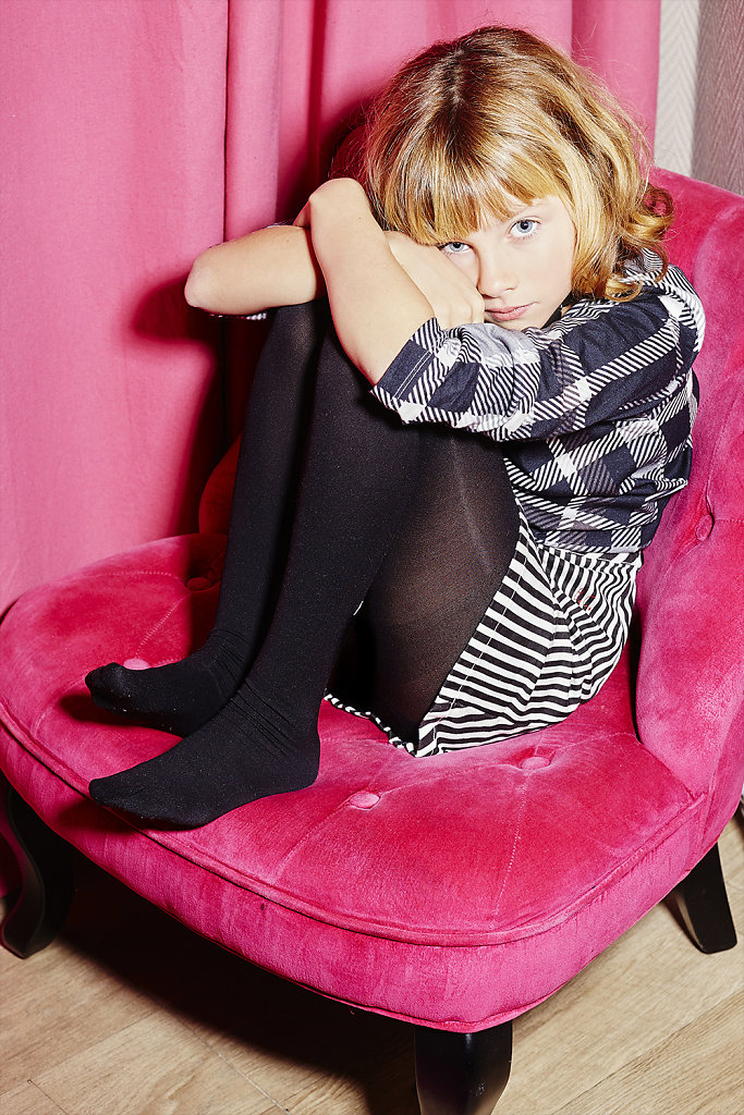 Pinky Hotel Paris - Kids Fashion Photography © Ahmed Bahhodh Editorial