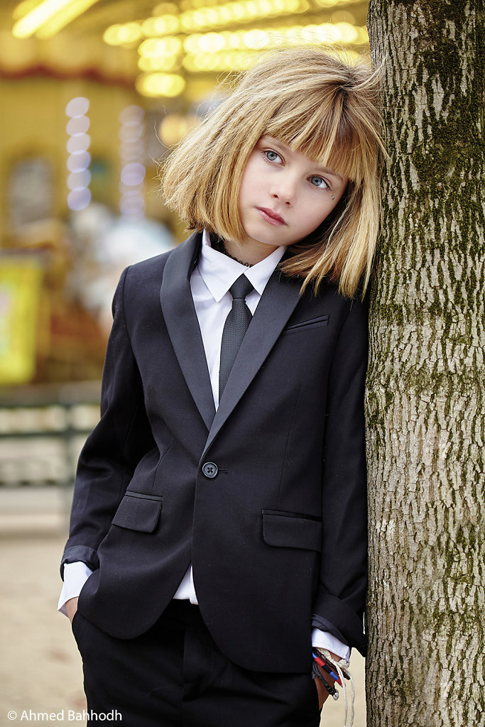 Paris Kids Fashion Photography Editorial © Ahmed Bahhodh